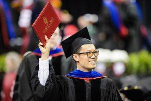 Students celebrate graduation