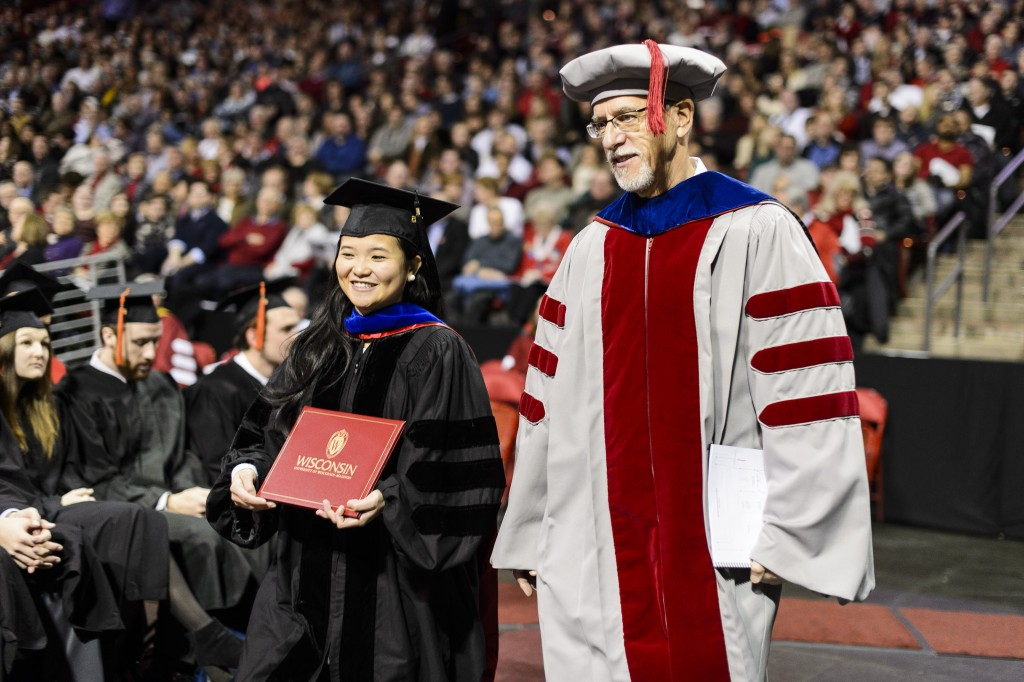 What kind of undergraduate degree can you get in psychology at the University of Wisconsin- Madison?